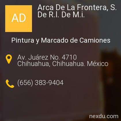 Arca De La Frontera, S. De R.l. De M.i.