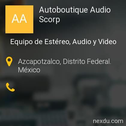 Autoboutique Audio Scorp
