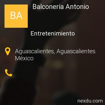 Balconeria Antonio