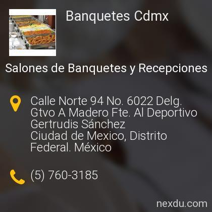 Banquetes Cdmx