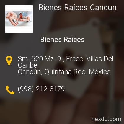 Bienes Raíces Cancun