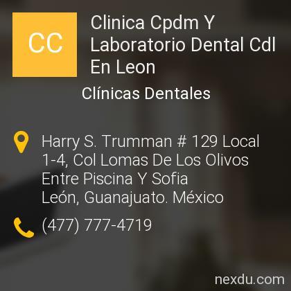 Clinica Cpdm Y Laboratorio Dental Cdl En Leon