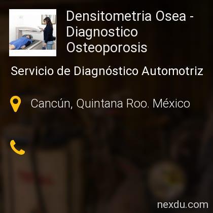 Densitometria Osea - Diagnostico Osteoporosis