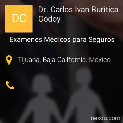 Dr. Carlos Ivan Buritica Godoy