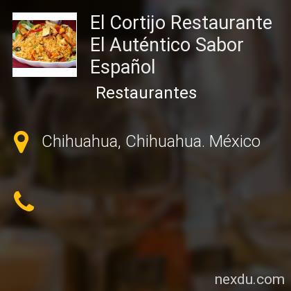 El Cortijo Restaurante  El Auténtico Sabor Español