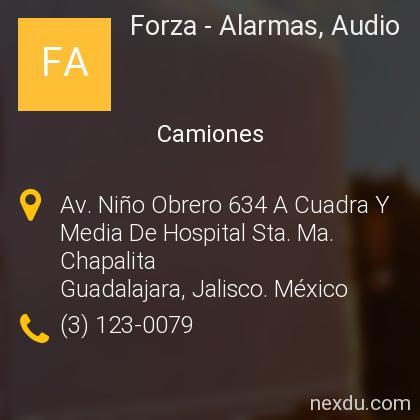 Forza - Alarmas, Audio