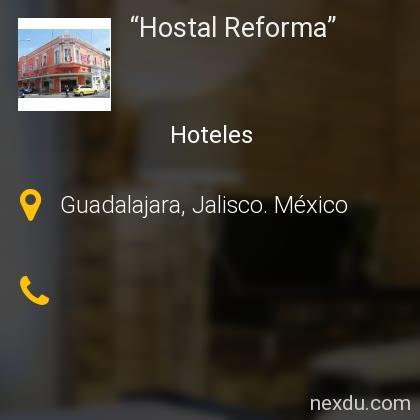 """Hostal Reforma"""