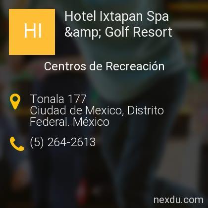 Hotel Ixtapan Spa & Golf Resort