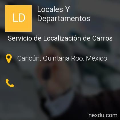 Locales Y Departamentos