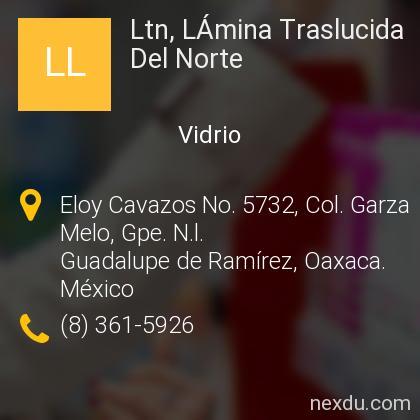Ltn, LÁmina Traslucida Del Norte