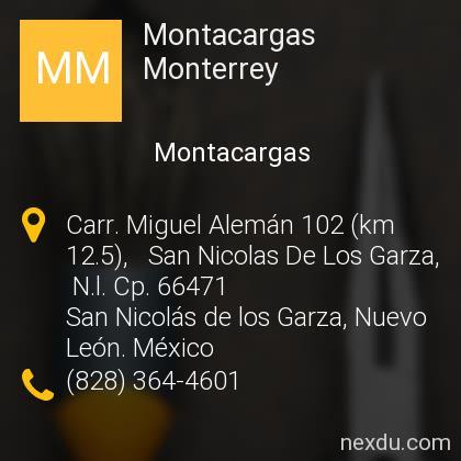 Montacargas Monterrey