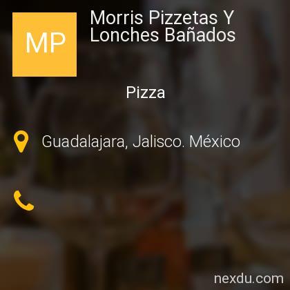 Morris Pizzetas Y Lonches Bañados