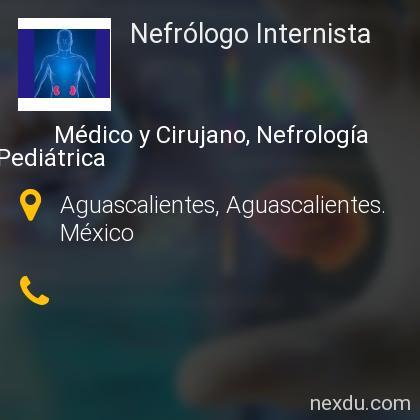 Nefrólogo Internista