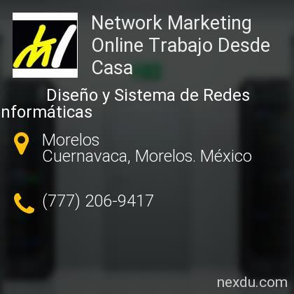Network Marketing Online Trabajo Desde Casa
