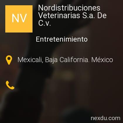 Nordistribuciones Veterinarias S.a. De C.v.