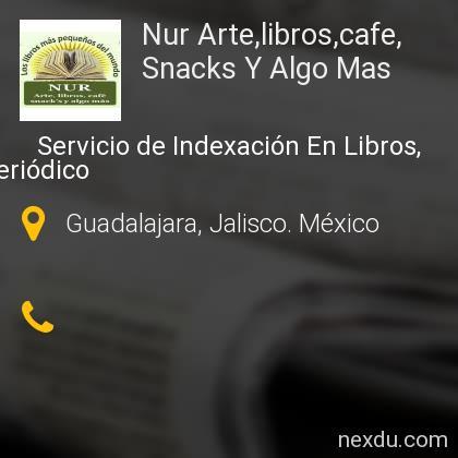 Nur Arte,libros,cafe, Snacks Y Algo Mas