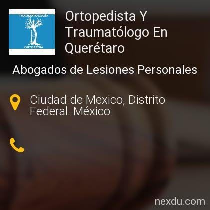 Ortopedista Y Traumatólogo En Querétaro