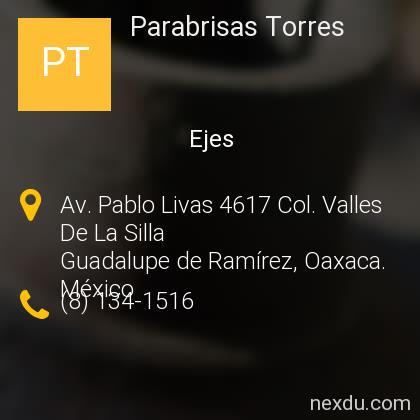 Parabrisas Torres