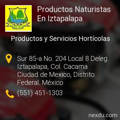 Productos Naturistas En Iztapalapa