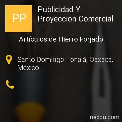 Publicidad Y Proyeccion Comercial