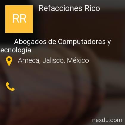 Refacciones Rico