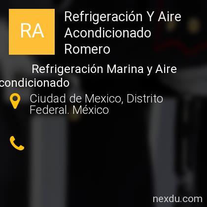Refrigeración Y Aire Acondicionado Romero
