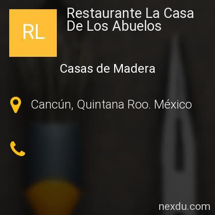 Restaurante La Casa De Los Abuelos
