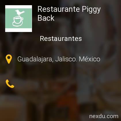 Restaurante Piggy Back