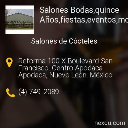 Salones Bodas,quince Años,fiestas,eventos,monterrey,apodaca