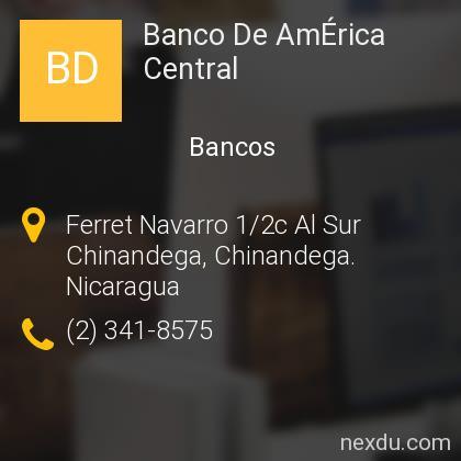 Banco De AmÉrica Central