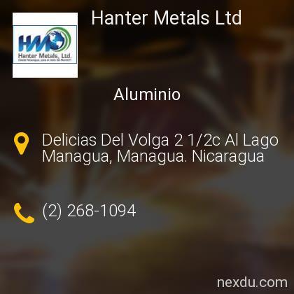 Hanter Metals Ltd