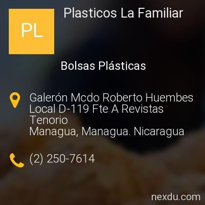Plasticos La Familiar