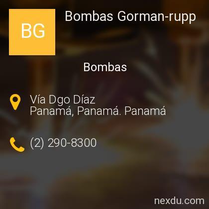 Bombas Gorman-rupp