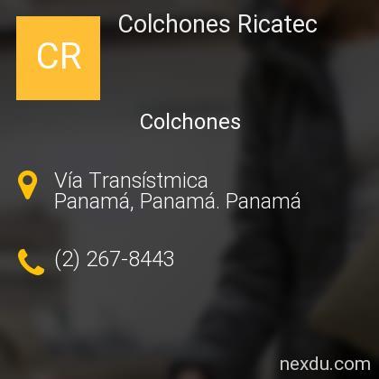 Colchones Ricatec