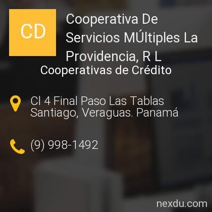 Cooperativa De Servicios MÚltiples La Providencia, R L