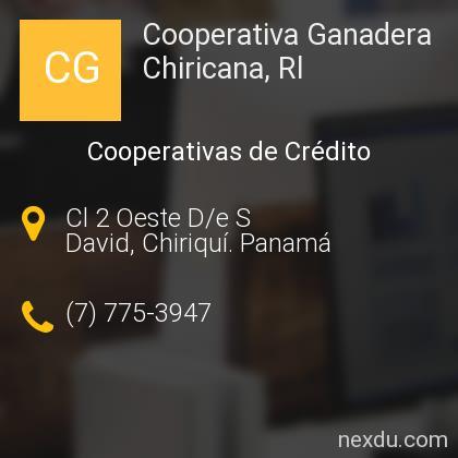 Cooperativa Ganadera Chiricana, Rl