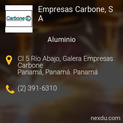 Empresas Carbone, S A