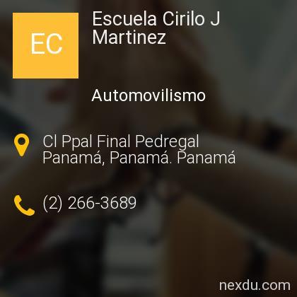 Escuela Cirilo J Martinez