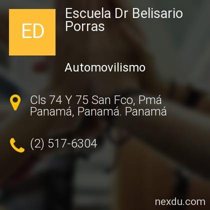 Escuela Dr Belisario Porras