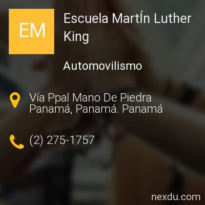 Escuela MartÍn Luther King