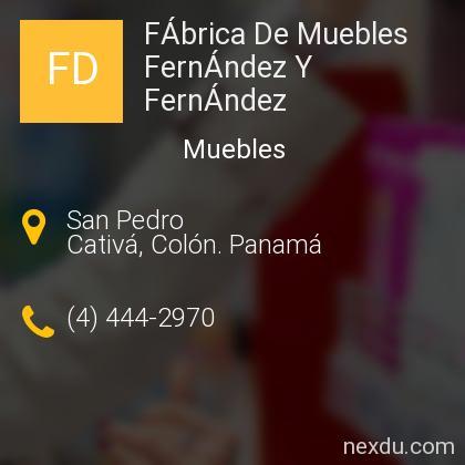 FÁbrica De Muebles FernÁndez Y FernÁndez