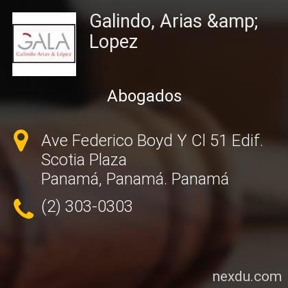 Galindo, Arias & Lopez