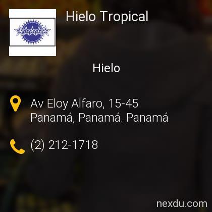 Hielo Tropical