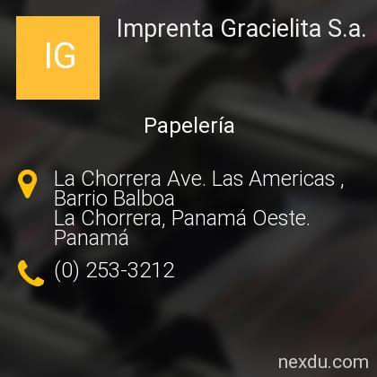 Imprenta Gracielita S.a.