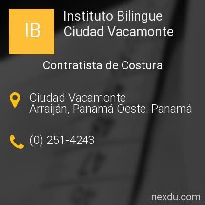 Instituto Bilingue Ciudad Vacamonte