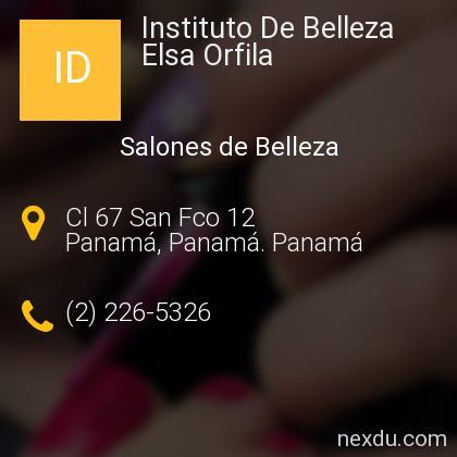 Instituto De Belleza Elsa Orfila