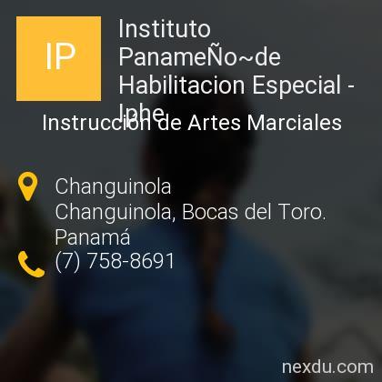 Instituto PanameÑo~de Habilitacion Especial - Iphe