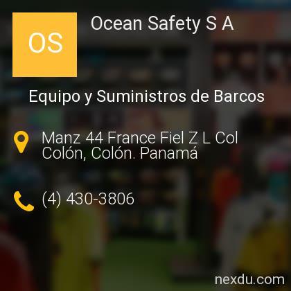 Ocean Safety S A