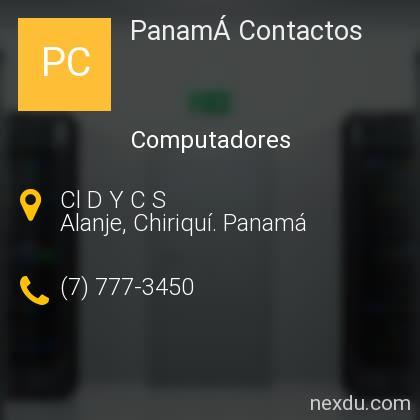 PanamÁ Contactos