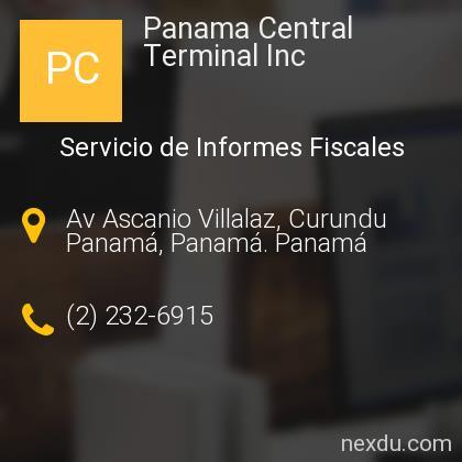 Panama Central Terminal Inc